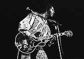 """Chuck Berry - Charles Edward Anderson """"Chuck"""" Berry (October 18, 1926 – March 18, 2017)- performing live in London - 1973. Photo credit: Ian Dickson / IconicPix"""