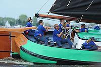 SKUTSJESILEN: SKS skûtsje Leeuwarden, ©foto Martin de Jong
