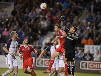 Santa Clara, Ca - Saturday, March 15, 2014: The San Jose Earthquakes tied Real Salt Lake 3-3 in stoppage time at Buck Shaw Stadium.