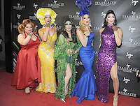 """NEW YORK, NY - June 23: Ru Paul Drag Race All stars attends Logo's  2016 """"Trailblazer Honors""""June 23, 2016 at The Cathedral of St. John the Divine  in New York City .  Photo Credit: John Palmer/ MediaPunch"""