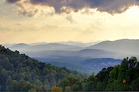 View from orchard in Albemarle County, VA. Photo/Andrew Shurtleff