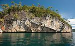 Karst islands at Temintoi, Triton Bay, Papua