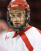 Ben Rosen (BU - 8) - The visiting Boston College Eagles defeated the Boston University Terriers 3-2 to sweep their Hockey East series on Friday, January 21, 2011, at Agganis Arena in Boston, Massachusetts.