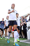 10 November 2013: Alex Morgan (USA). The United States Women's National Team played the Brazil Women's National Team at the Citrus Bowl in Orlando, Florida in an international friendly soccer match.