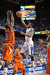 UK's Brandon Knight putting it up during the University of Kentucky Men's basketball game against Auburn at Rupp Arena in Lexington, Ky., on 1/11/11. Uk won the game 78-54. Photo by Mike Weaver   Staff