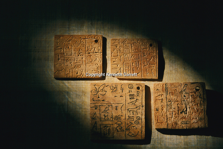Bone and ivory written labels from King Qa'a, Early Dynastic