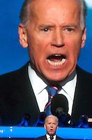 CHARLOTTE, NC - September 5, 2012 - Vice President Joe Biden speaking at the 2012 Democratic National Convention.