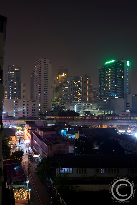 Night time in Sukhumvit, Bangkok, Thailand