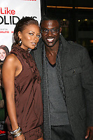 "Eva Marcille & Luke Gross arriving at the Premiere of ""Nothing Like the Holidays"" at the Grauman's Chinese Theater in Hollywood, CA.December 3, 2008.©2008 Kathy Hutchins / Hutchins Photo....                ."