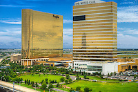 Borgata Hotel Casino, The Water Club, Atlantic City World-famous Boardwalk, Sand, Resort hotels,  Architecture;  New Jersey; Seaside Resort;