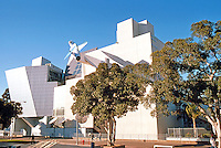 Frank Gehry: Aerospace Museum, Exposition Park, Los Angeles. 1984.  Photo '87.