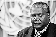 14 Mar 1978 --- Joshua N'Komo, president of the Zimbabwe African People's Union (ZAPU), during a UN conference on Rhodesia. Zimbabwe-Rhodesia was the official name of Zimbabwe between 1st June and 12 December 1979. --- Image by © JP Laffont