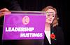 UKIP <br /> Leadership hustings <br /> at the Emanuel Centre, London, Great Britain <br /> 1st November 2016 <br /> <br /> the first leadership hustings before the election on 28th November 2016 <br /> <br /> Suzanne Evans <br /> <br /> <br /> <br /> <br /> Photograph by Elliott Franks <br /> Image licensed to Elliott Franks Photography Services
