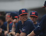 Ole Miss' Luke Gibbs (11) vs. Lipscomb at Oxford-University Stadium in Oxford, Miss. on Saturday, March 9, 2013. Ole Miss won 8-5. The win was the 486th for Mike Bianco as the Rebel head coach, making him the university's all time winningest baseball coach.