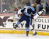 Jimmy Hayes (BC - 10), Mike Banwell (Maine - 4) - The Boston College Eagles defeated the visiting University of Maine Black Bears 4-0 on Friday, November 19, 2010, at Conte Forum in Chestnut Hill, Massachusetts.