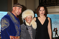 "LOS ANGELES, CA - OCTOBER 18: Nurgaiv Rys, Aisholpan Nurgaiv, Daisy Ridley at the ""The Eagle Huntress"" Premiere at the Pacific Theaters at the Grove, Los Angeles, California on October 18, 2016.  Credit: David Edwards/MediaPunch"