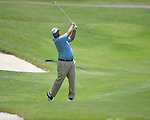 Brendan de Jonge hits on the 18th hole at the PGA FedEx St. Jude Classic at TPC Southwind in Memphis, Tenn. on Thursday, June 9, 2011.