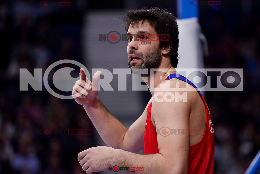 CSKA Moscow Milos Teodosic during Turkish Airlines Euroleague match between Real Madrid and CSKA Moscow at Wizink Center in Madrid, Spain. January 06, 2017. (ALTERPHOTOS/BorjaB.Hojas)