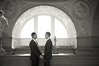 Hayman and Scott's San Francisco City Hall wedding