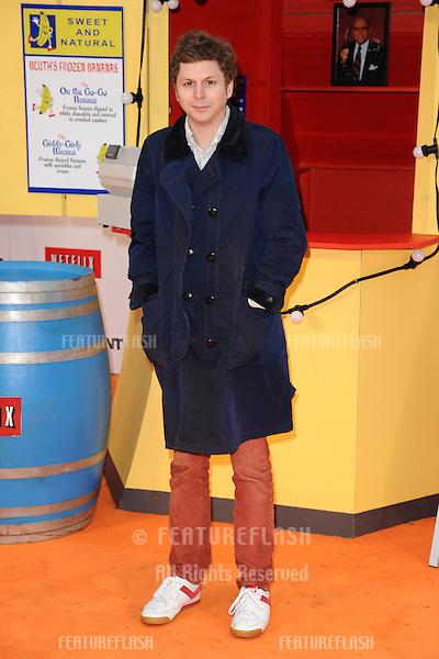 "Michael Cera arriving for the ""Arrested Development"", Season Four  premiere at the Vue, Leicester Square, London. 09/05/2013 Picture by: Steve Vas / Featureflash"
