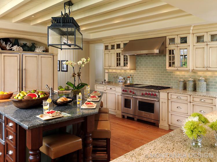 coastal kitchen design montanna associates interior design. Black Bedroom Furniture Sets. Home Design Ideas