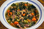 Black-eyed peas with fresh vegetables, carrots, onions, celery and ham.  A New Year's Tradition. ©2016.  Jim Bryant Photo. All Rights Reserved.