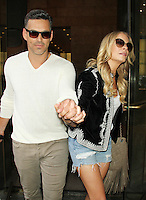JUL 17 LeAnn Rimes and Eddie Cibrian at SiriusXM Studios