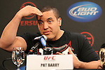 September 29, 2011; Washington D.C.; USA; at the final press conference for their upcoming bout at UFC on Versus 6.
