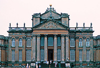 Sir John Vanbrugh: Blenheim Palace--Portico. (zoom) Photo '87.