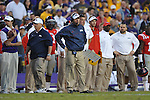 Ole Miss Coach Hugh Freeze vs. LSU at Tiger Stadium in Baton Rouge, La. on Saturday, November 17, 2012. LSU won 41-35.....