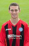 St Johnstone FC 2013-14<br /> Scott Stevenson<br /> Picture by Graeme Hart.<br /> Copyright Perthshire Picture Agency<br /> Tel: 01738 623350  Mobile: 07990 594431