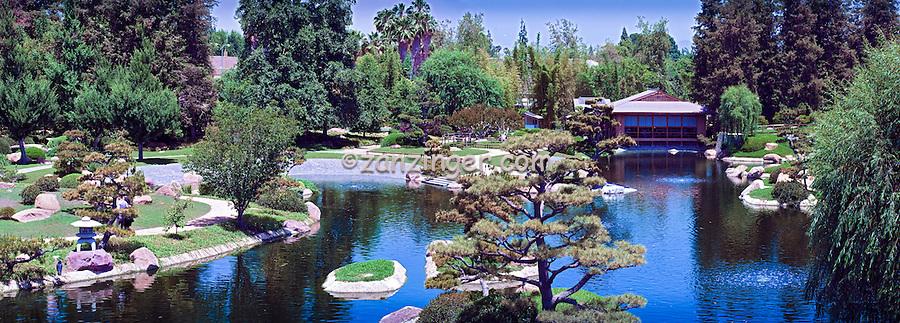 Japanese Garden Tillman Water Reclamation Plant Woodley Park Lake Balboa Van Nuys CA ...
