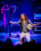 LAS VEGAS, NV - July 2, 2016: ***HOUSE COVERAGE*** Steven Tyler opening night of the 'Out On A Limb' solo tour at The Venetian Theater at The Venetian Las Vegas in Las Vegas, NV on July 2, 2016. Credit: Erik Kabik Photography/ MediaPunch