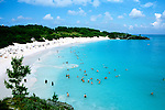 Bermuda: Horseshoe Beach  .Photo Copyright Lee Foster, 510/549-2202, lee@fostertravel.com, www.fostertravel.com...Photo #: bermud103