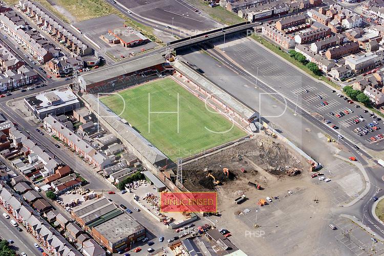 Blackpool FC Ground demolition