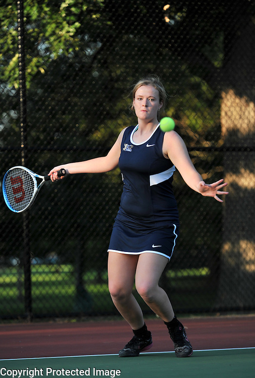 2014-2015 ICCP Tennis vs Wheaton Academy