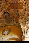 Renaissance Entrance Vault 1506, Palazzo Chigi-Saracini, Siena, Italy