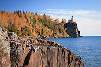 &quot;Ablaze at Split Rock Lighthouse&quot;<br />
