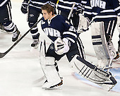 Casey DeSmith (UNH - 29) - The Boston College Eagles and University of New Hampshire Wildcats tied 4-4 on Sunday, February 17, 2013, at Kelley Rink in Conte Forum in Chestnut Hill, Massachusetts.