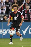 D.C. United midfielder Nick DeLeon (18) D.C. United tied the Seattle Sounders, 0-0 at RFK Stadium, Saturday April 7, 2012.