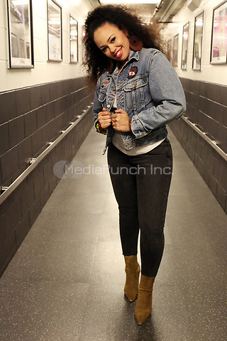 BROOKLYN, NY - MAY 12: Elle Varner backstage the 2nd Annual Mother's Day Good Music Festival at the Barclay's Center in New York City on May 12, 2017. Credit: Walik Goshorn/MediaPunch
