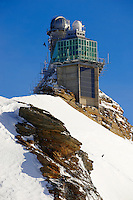 Jungrfrau Top of Europe Sphinx observatory, Jungfrau plateau Swiss Alps, Switzerland.