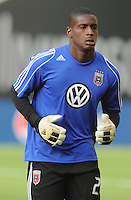 D.C. United goalkeeper Bill Hamid (28) D.C. United defeated Toronto FC 3-1 at RFK Stadium, Saturday May 19, 2012.