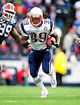 20 December 2009: New England Patriots' running back Laurence Maroney gains 8 yards in the second quarter against the Buffalo Bills at Ralph Wilson Stadium in Orchard Park, New York. The Patriots defeated the Bills 17-10. Mandatory Credit: Ed Wolfstein Photo