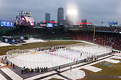 - The University of Maine Black Bears defeated the Boston University Terriers 7-3 (2EN) on Saturday, January 11, 2014, at Fenway Park in Boston, Massachusetts.