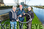 Launching the Jimmy Duffy memorial Cycle which will take place on Saturday 7th of January At 11 o'clock, starting at the St. Pats GAA Ground Blennerville. Registration begins at 10 o'clock. Organisers Front l-r Paul Byrne,  George Poff,  James O'Connor. and missing from photograph Maurice Hanafin