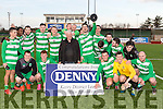 Champions<br /> ----------------<br /> Killarney Celtic celebrate their 2-0  win in the Munster Junior Cup against Dingle Bay Rovers last Sunday at Mounthawk Pk, Tralee.