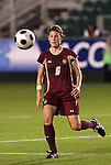 07 November 2008: Boston College's Alyssa Pember. The University of North Carolina Tarheels defeated Boston College Eagles 2-0  at WakeMed Stadium at WakeMed Soccer Park in Cary, NC in a women's ACC tournament semifinal game.