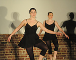 "Lauren Vickers of Ballet Oxford performs as The Yoknapatawpha Arts Council held their inaugural ""Interaction"" event on Saturday, March 6, 2010. ""Interaction"" featured visual and performing arts from groups such as LaffCo!, Ballet Oxford, and Oxford Songwriters Association."