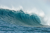 Namotu Island Resort, Nadi, Fiji (Monday, February 20 2017): There were strong North East winds this morning with a  South West swell. Namotu lefts and Wilkes were the spots early before the tide filled in and the offshore wind strengthen.  Photo: joliphotos.com